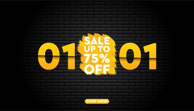 01 de janeiro modelo de super venda.