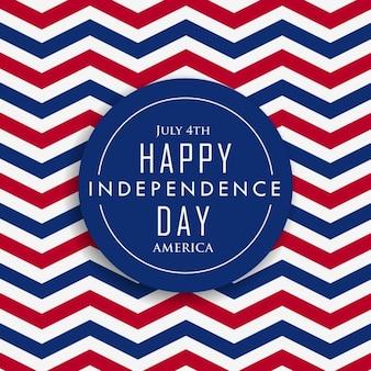 04 de julho feliz do dia da independência américa