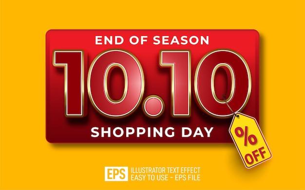 10.10 texto editável do dia de compras
