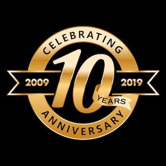 10 anos de aniversário
