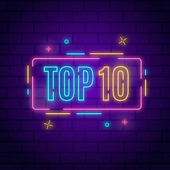 10 melhores luzes de néon