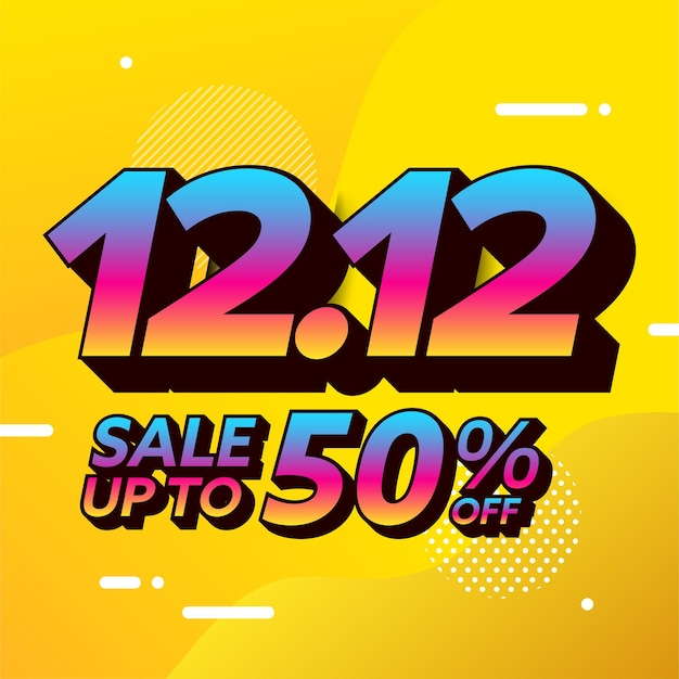 11.11 projeto do banner de venda do dia de compras
