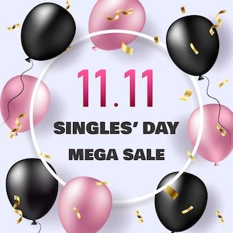 11 de novembro venda de solteiros.