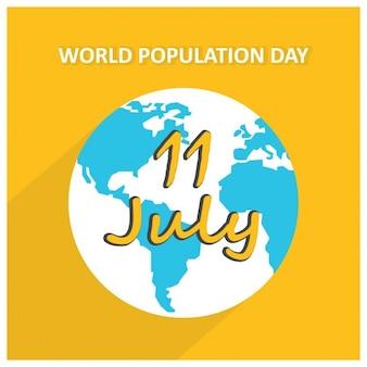 11 dia mundial da população julho