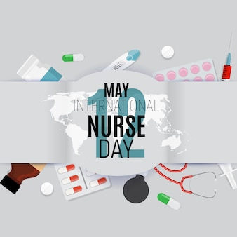 12 de maio dia internacional da enfermeira médico