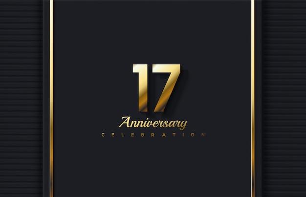 17ª celebração com luxuosas e elegantes figuras douradas.