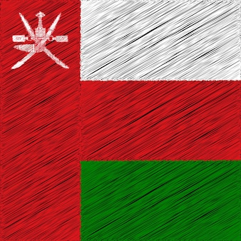 18 de novembro projeto da bandeira do dia nacional de omã