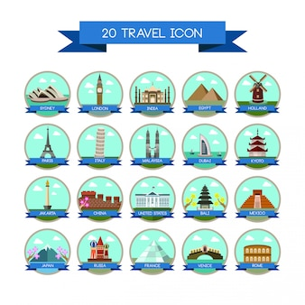 20 viajando sinal do país