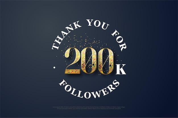 200 mil seguidores com os litros começando a ruir.