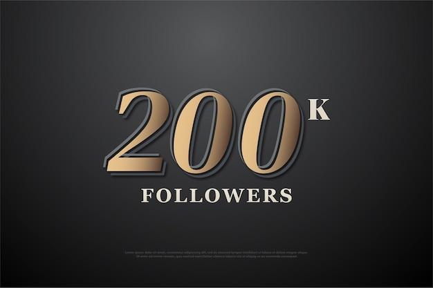 200 mil seguidores
