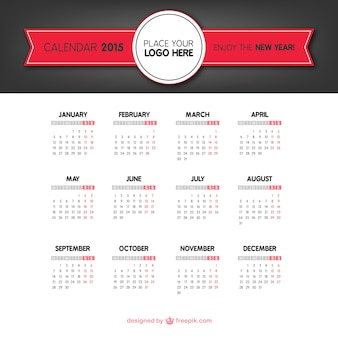 2015 calendário clássico
