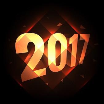 2017 feriado fundo do ano novo com luzes brilhantes diagonais