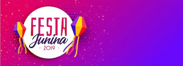 2019 festa junina feriado celebração design