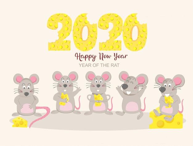 2020 ano do rato do rato