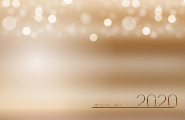 2020 ano novo e feliz fundo de natal.
