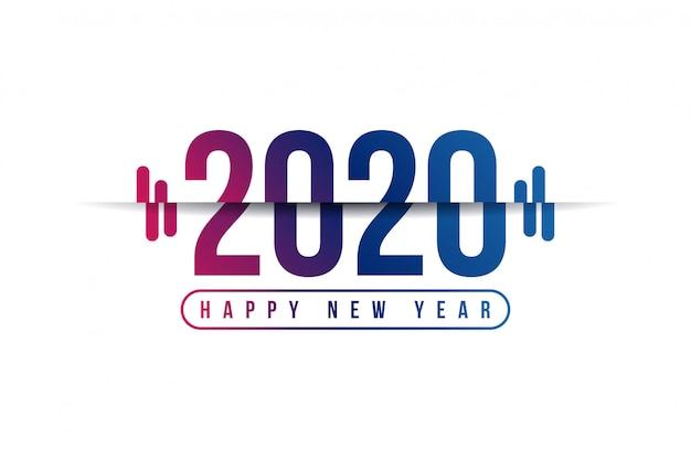 2020 feliz ano novo fundo