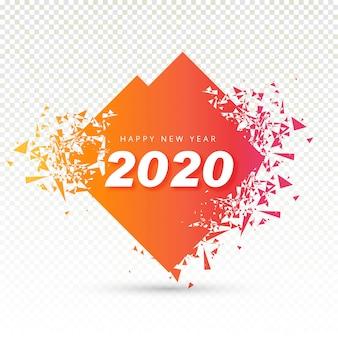 2020 feliz ano novo texto para cartão