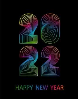 2021 feliz ano novo. fundo do vetor 2021 feliz ano novo