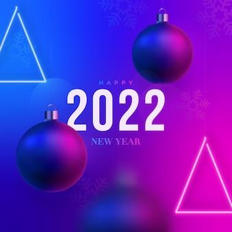 2022 feliz ano novo