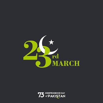23 de março no dia do paquistão