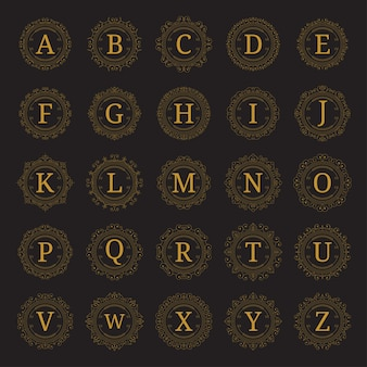 25 ajustar modelo de monograma