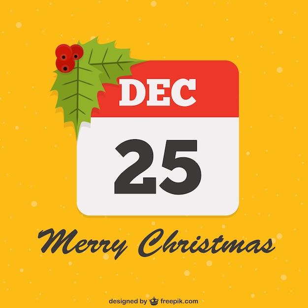 25 de dezembro vector