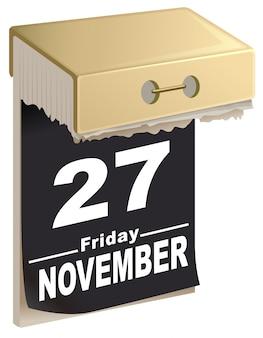 27 de novembro de 2015 black friday, época de grandes vendas