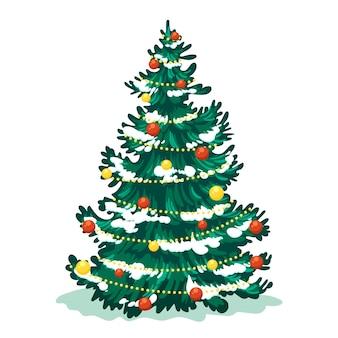 2d árvore de natal