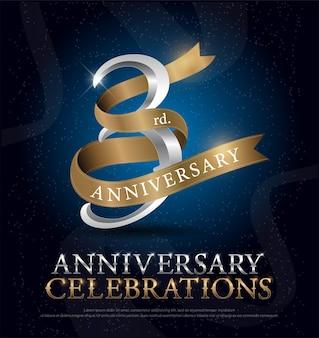 3º aniversário de comemoração