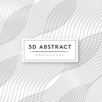 3-d vector abstract background pattern