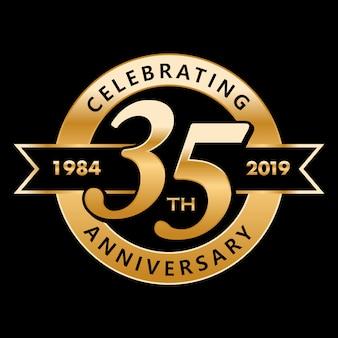 35 anos de aniversário