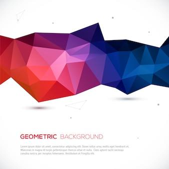 3d abstrato colorido fundo geométrico.