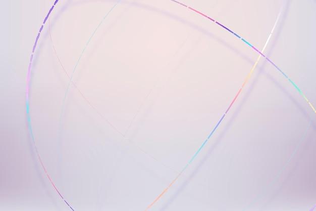 3d esfera colorida de fundo pastel