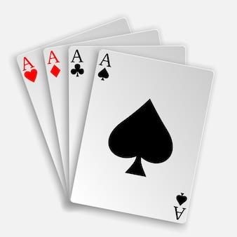 3d royal straight flush cartas de jogar mão de pôquer