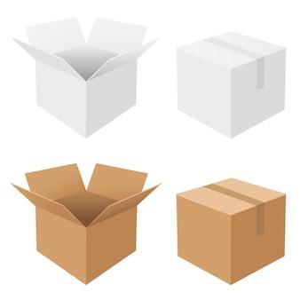 4 caixas