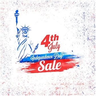 4 de julho de venda