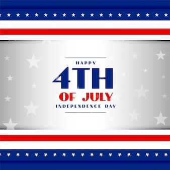 4 de julho, dia da independência americana, fundo patriótico