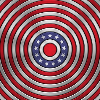 4 de julho dia da independência distintivo