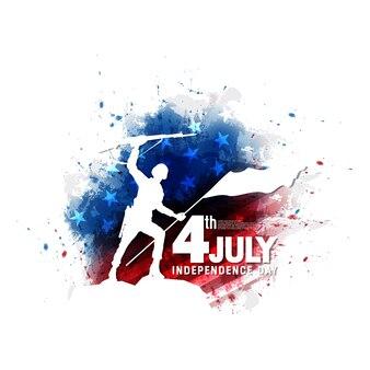 4 de julho dia da independência simples fundo
