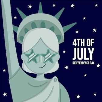 4 de julho - dia da independência