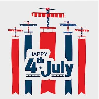 4 de julho eua dia da independência show aéreo