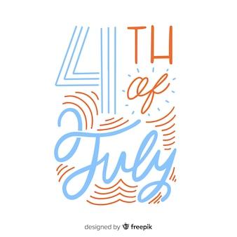 4 de julho - fundo do dia da independência