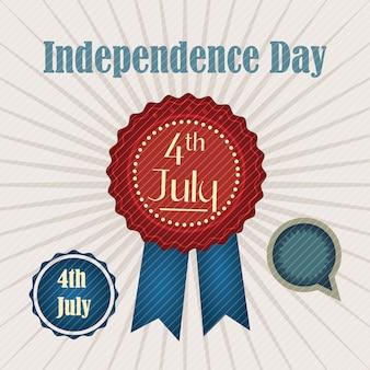 4 de julho (ícones de eua) dia da independência