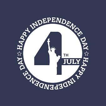 4 emblema julho