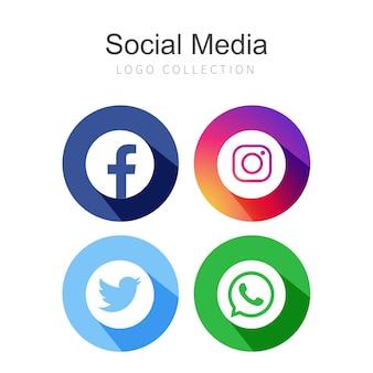 4 redes sociais