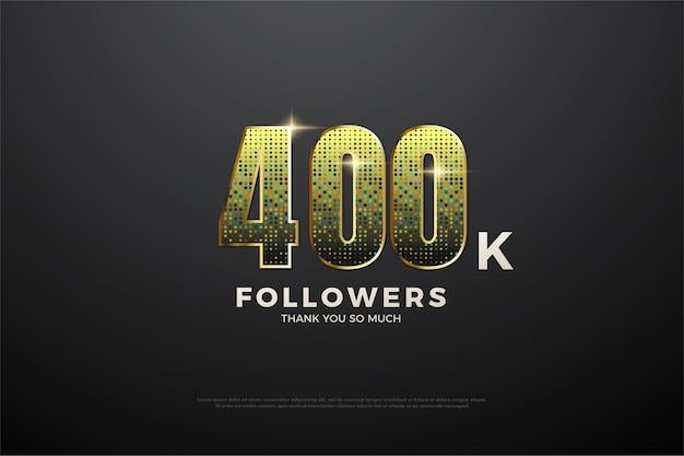 40 mil seguidores com números brilhantes