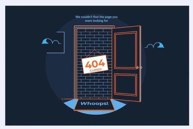 404 página de erro ou arquivo não encontrado