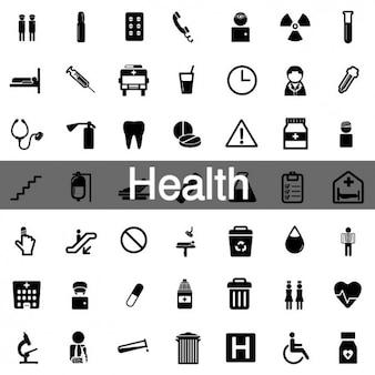 52 saúde icon pack