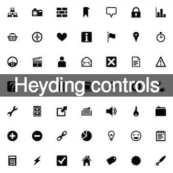 58 heyding controla ícones