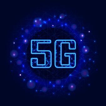 5g nova conexão sem fio wi-fi.